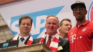 Karl Heinz Rummenigge Jerome Boateng Bayern Munchen