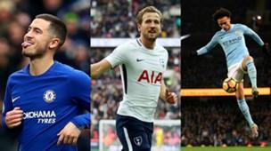 Collage Wertvollste Spieler Premier League