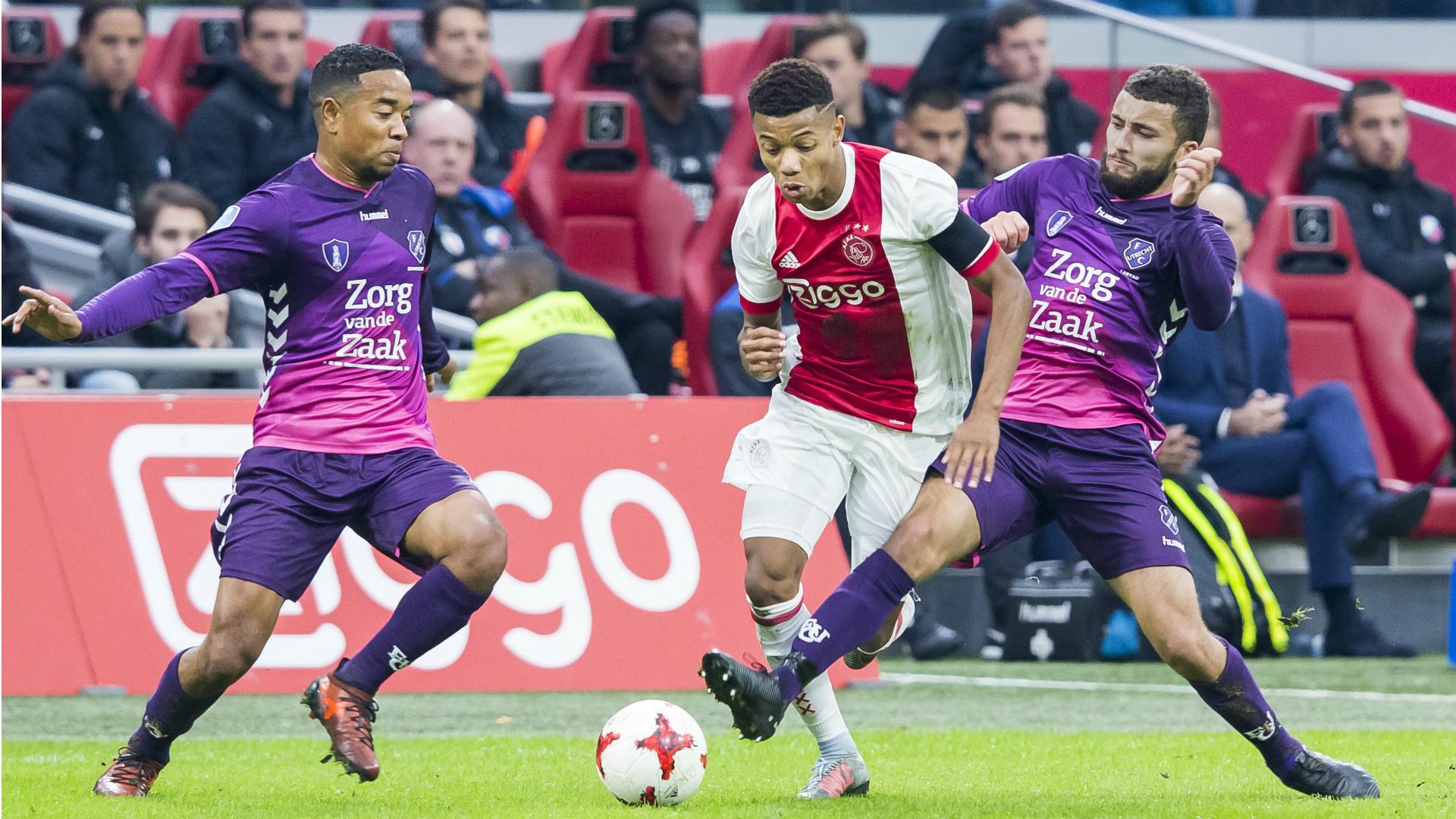 David Neres, Ajax - FC Utrecht, Eredivisie 11052017