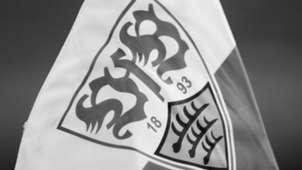 VfB Stuttgart Fahne Schwarz Weiß