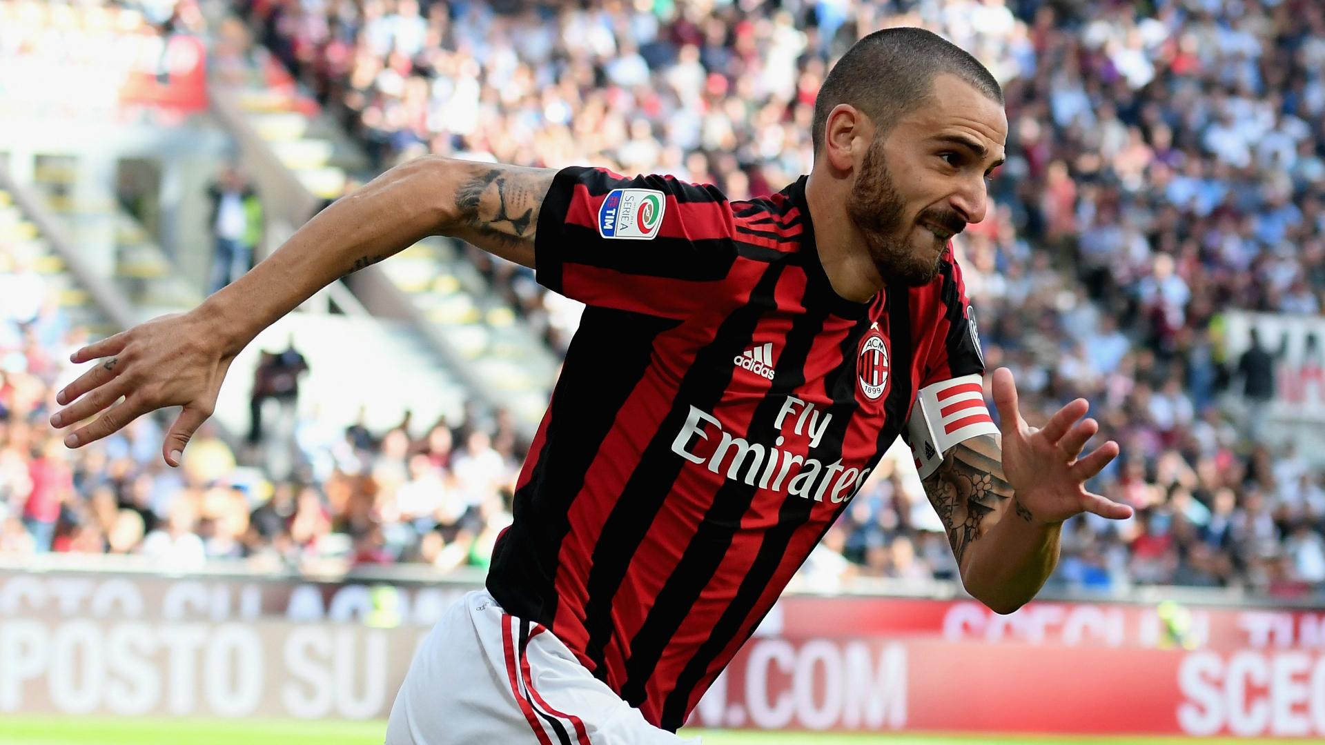 Leonardo Bonucci Milan Udinese Serie A 09172017