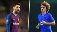 Messi Griezmann Barcelona split
