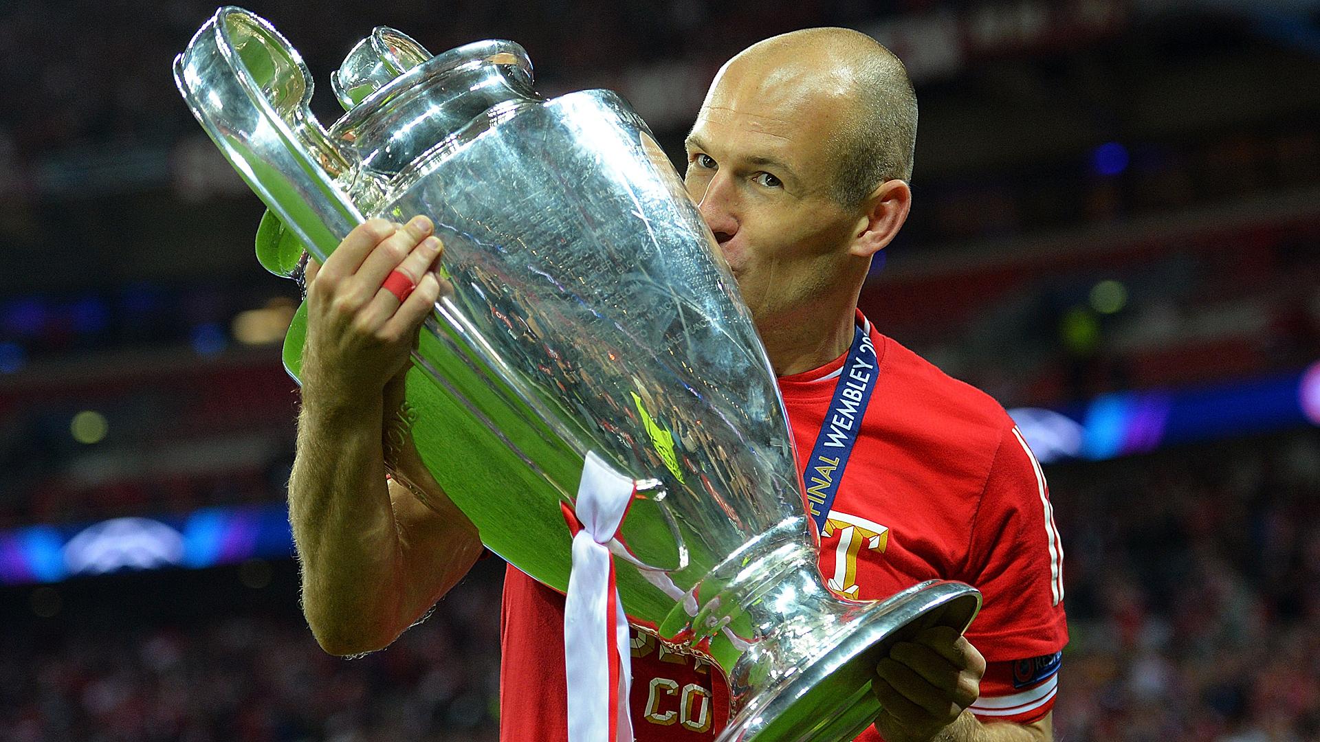 Arjen Robben FC Bayern Champions League