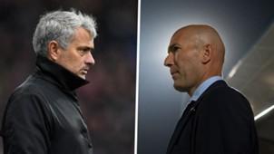 Jose Mourinho Zinedine Zidane