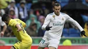 Gareth Bale Jaume Real Madrid Villarreal LaLiga 13012018