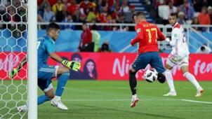 Iago Aspas Spain Morocco World Cup 2018 250618
