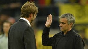 Jurgen Klopp Jose Mourinho 2017