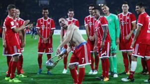 Frank Ribéry Bayern Munich campeón Supercopa