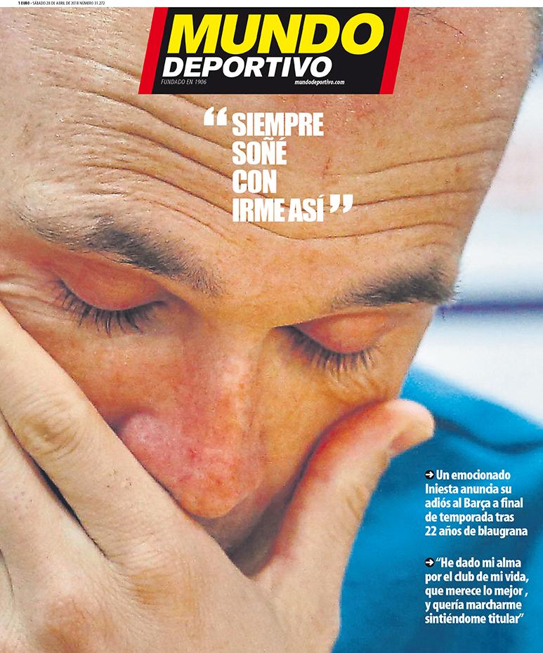Iniesta Mundo Deportivo