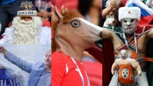 Batman, Kuda & Kreativitas Suporter Piala Konfederasi 2017