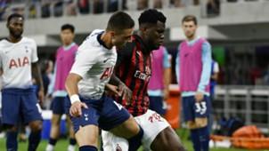 Alfie Whiteman Franck Kessie Tottenham Milan ICC 2018