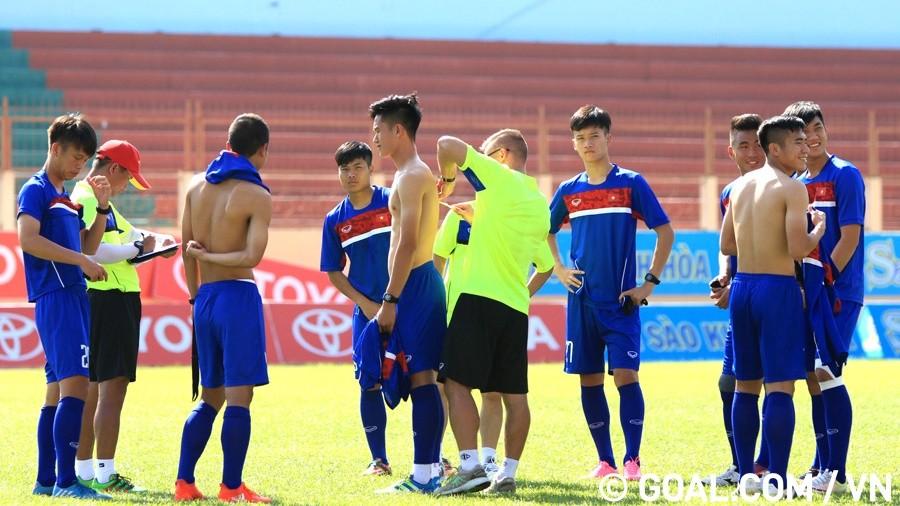 U20 Việt Nam tập