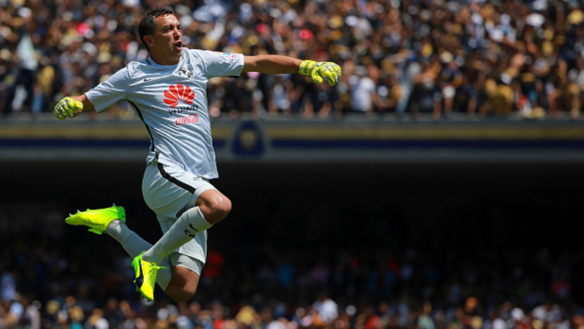 Agustin Marchesin America Liga MX Mexico Clausura 2017