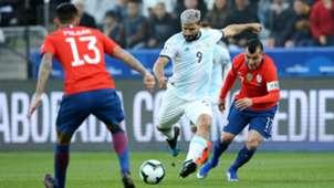 Sergio Aguero Argentina vs Chile Copa America 2019