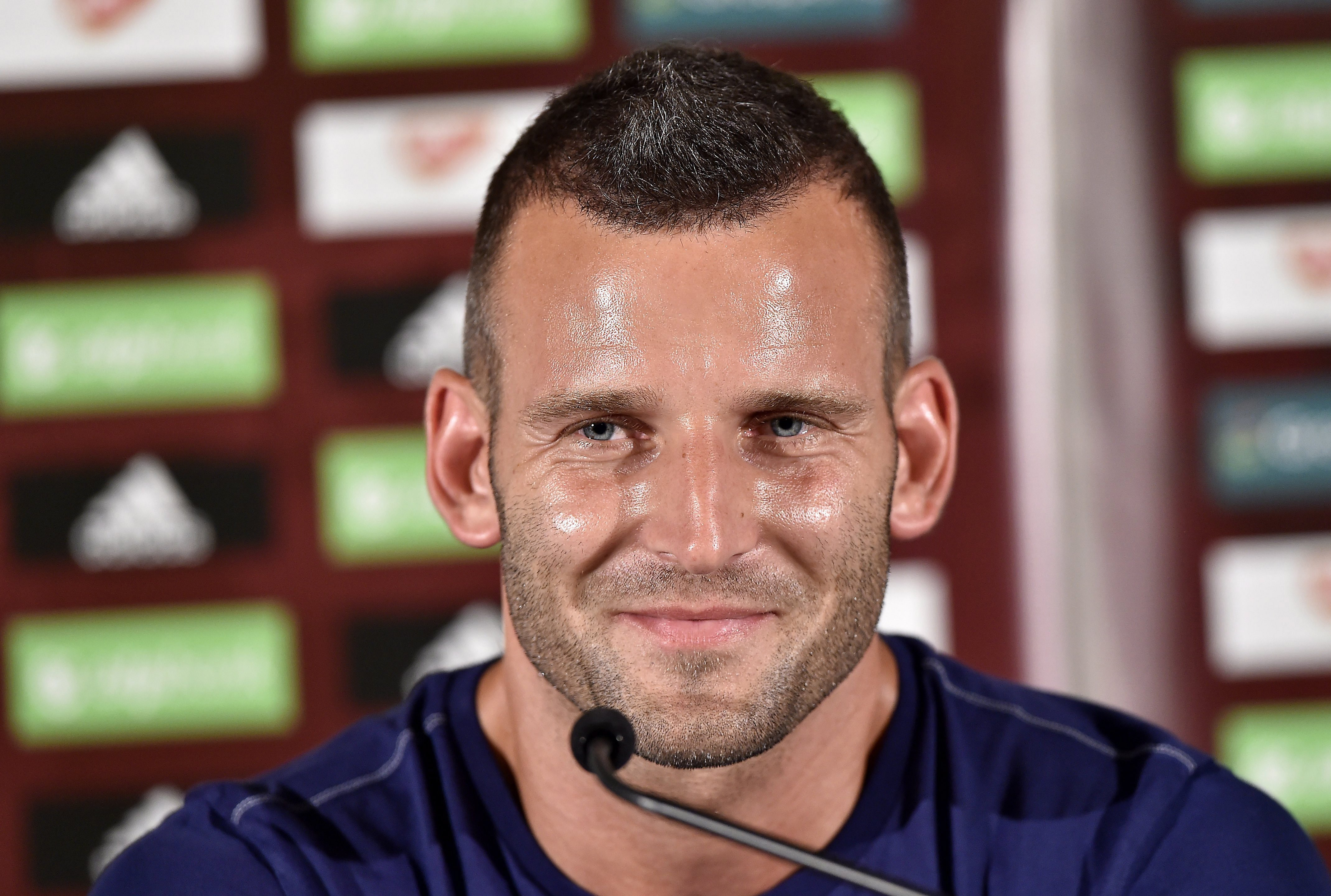 Szélesi Zoltán at the press conference