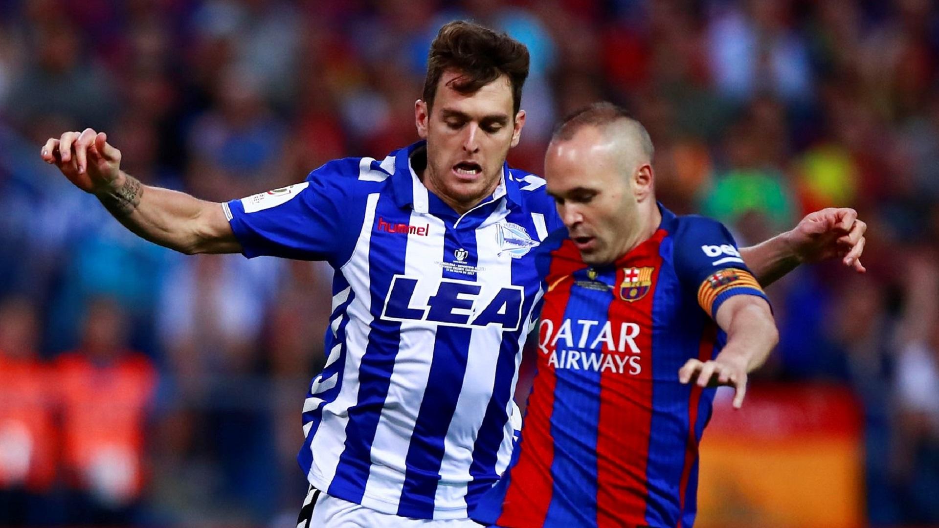 Andres Iniesta Ibai Gomez Barcelona Alaves Copa delk Rey