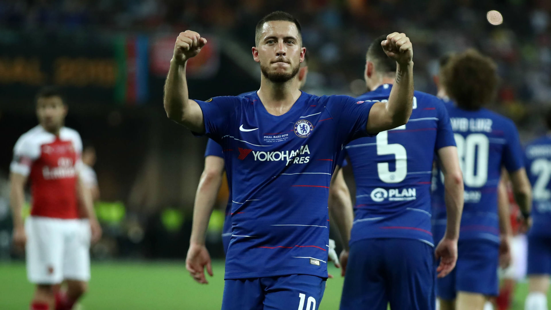 Eden Hazard Chelsea Arsenal Europa League final 2019
