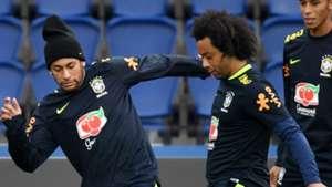 Neymar Marcelo Brazil 07112017