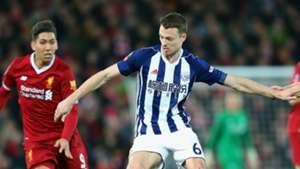 Jonny Evans Roberto Firmino West Brom Liverpool FA Cup