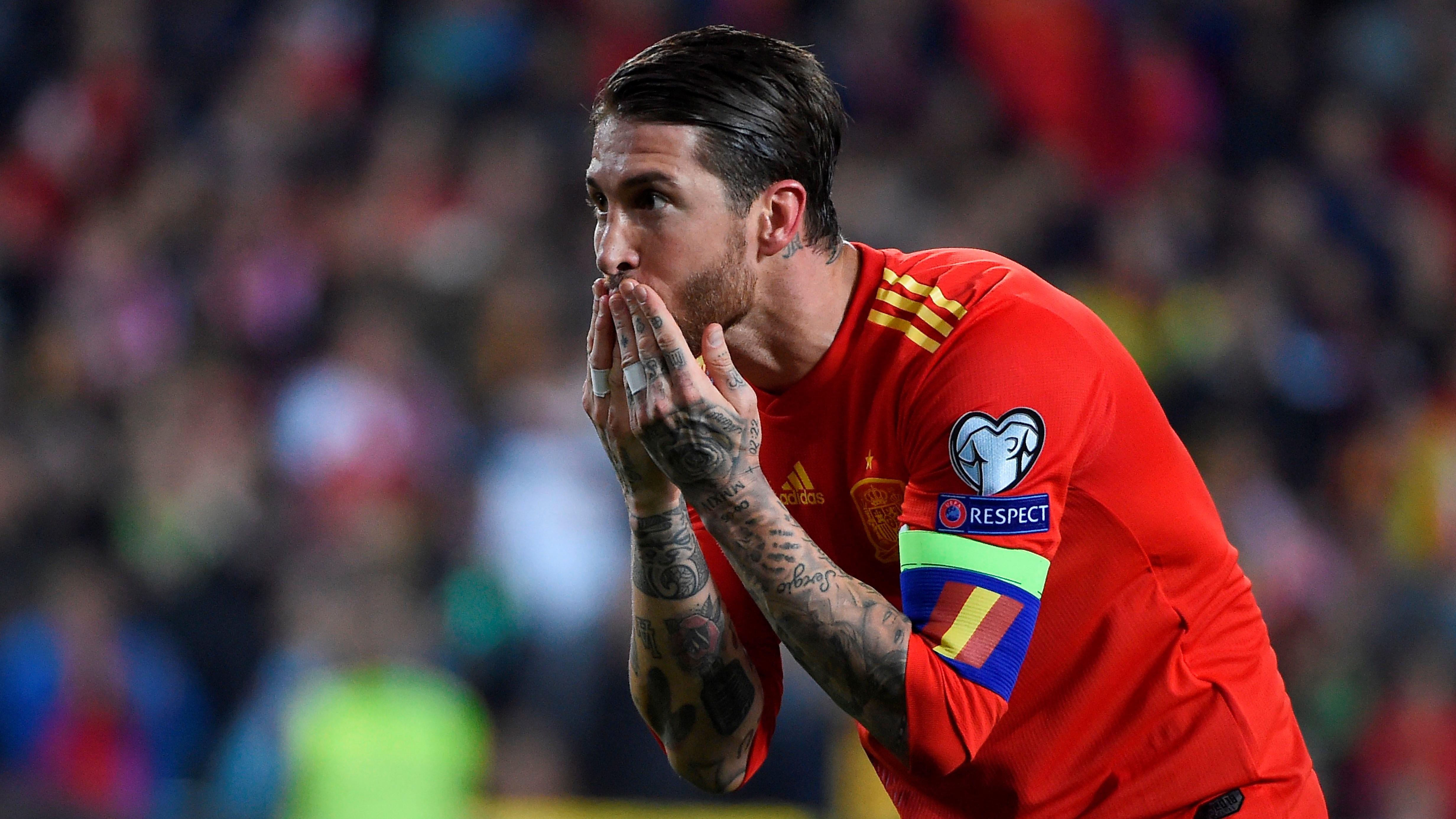 Sergio Ramos España Noruega Spain Norway EURO 23032019
