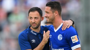 Mark Uth Domenico Tedesco FC Schalke 04 Juli 2018