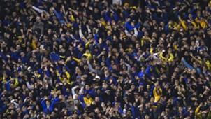 Hinchas Boca Vélez Superliga Fecha 4