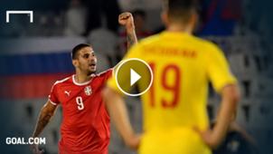video highlights serbien rumänien mitrovic