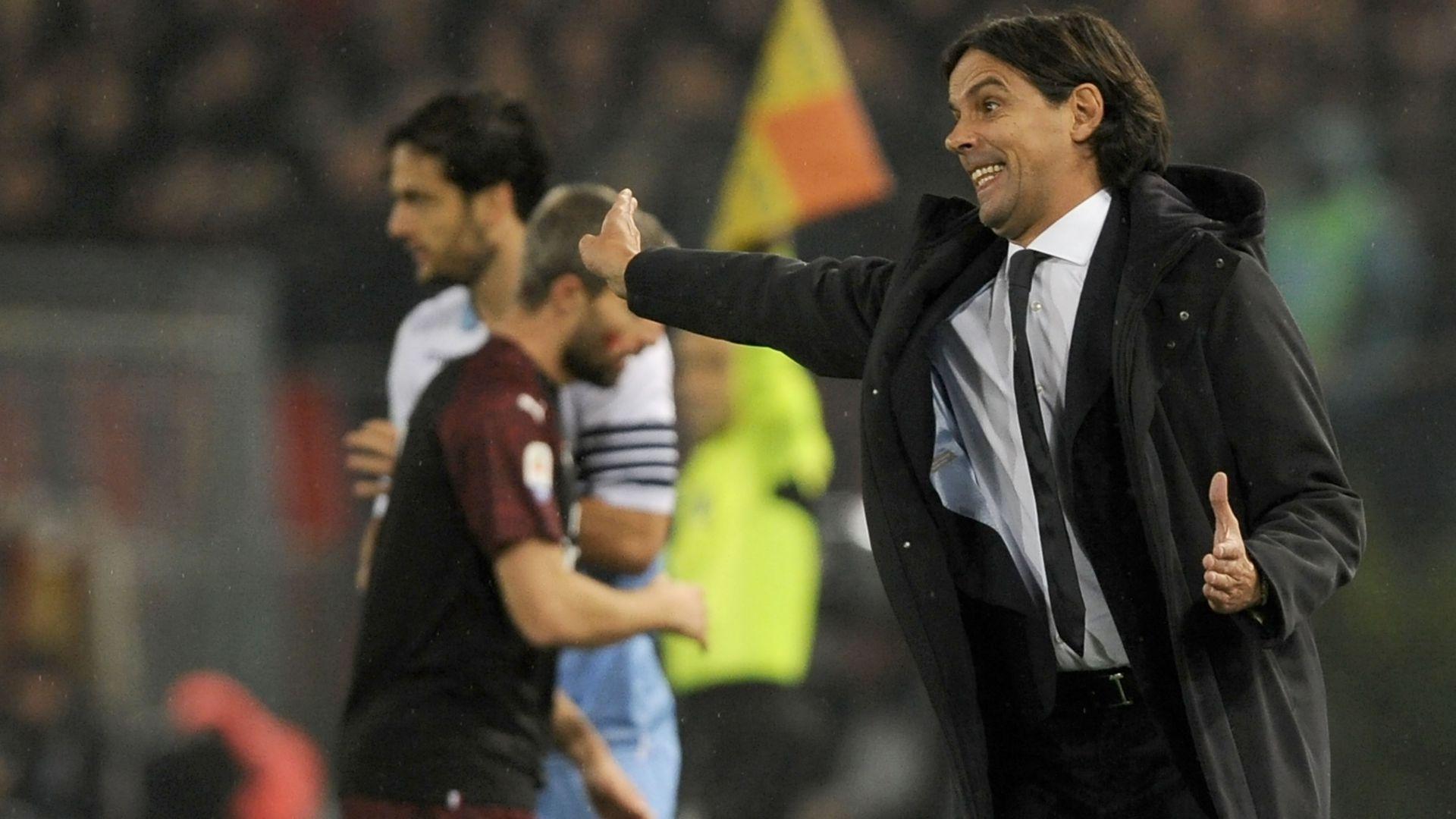 Simone Inzaghi Lazio Milan