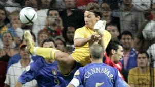 Euro 2004 Italy Sweden Ibrahimovic