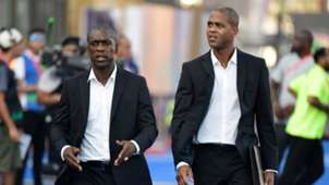 Clarence Seedorf, Patrick Kluivert - Cameroon