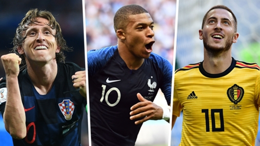 Mbappe, Modric & World Cup 2018 best team of the tournament