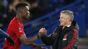 Paul Pogba, Ole Gunnar Solskjaer, Manchester United