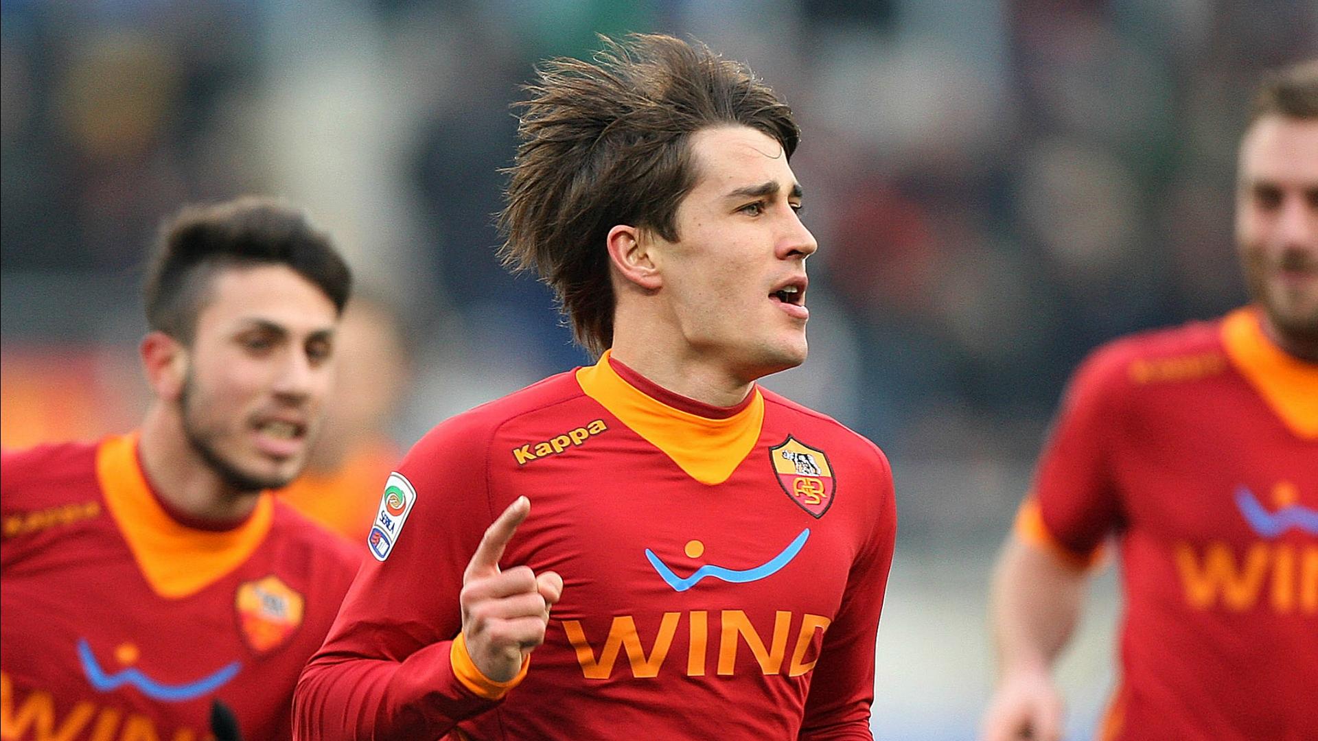 Bojan Krkic with Roma shirt