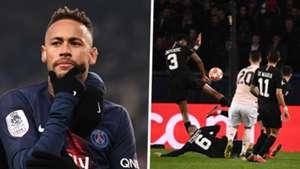 Neymar Kimpembe handball composite