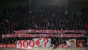 Protest Bayern Munich Anderlecht Champions League 11222017