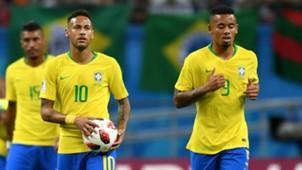 Neymar Gabriel Jesus Brazil 2018