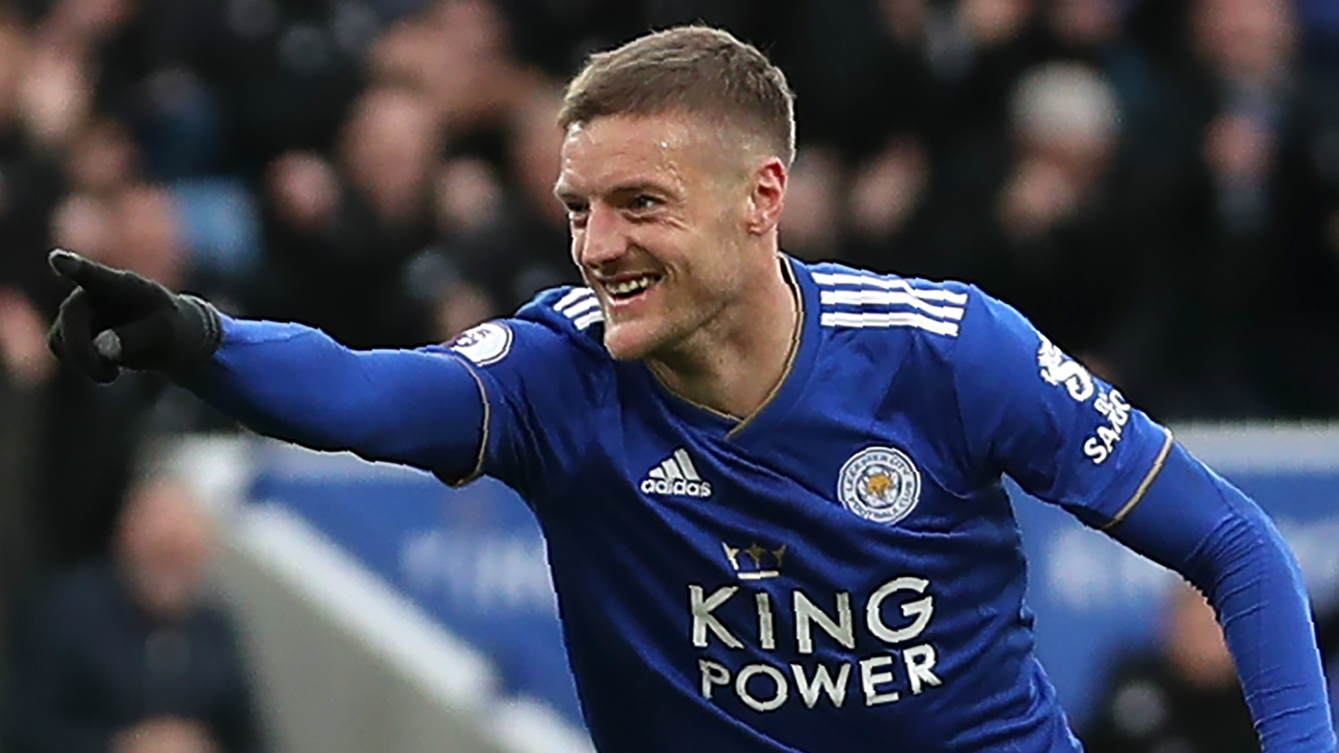 Jamie Vardy nets 100th Leicester goal after Fulham double ...