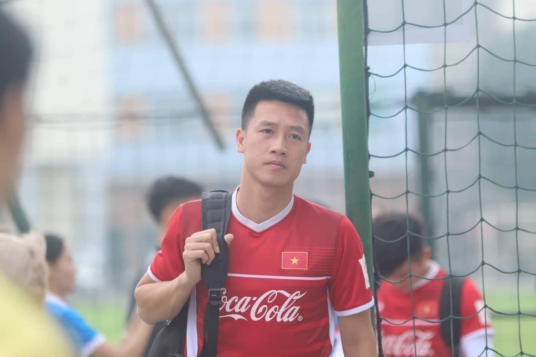 Nguyen Huy Hung Vietnam training Asian Cup 2019