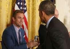 Taylor Twellman Barack Obama