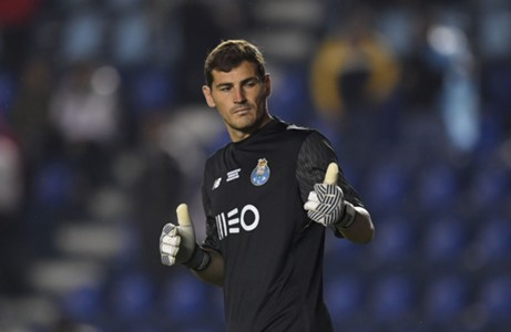 casillas cruz azul porto 2017