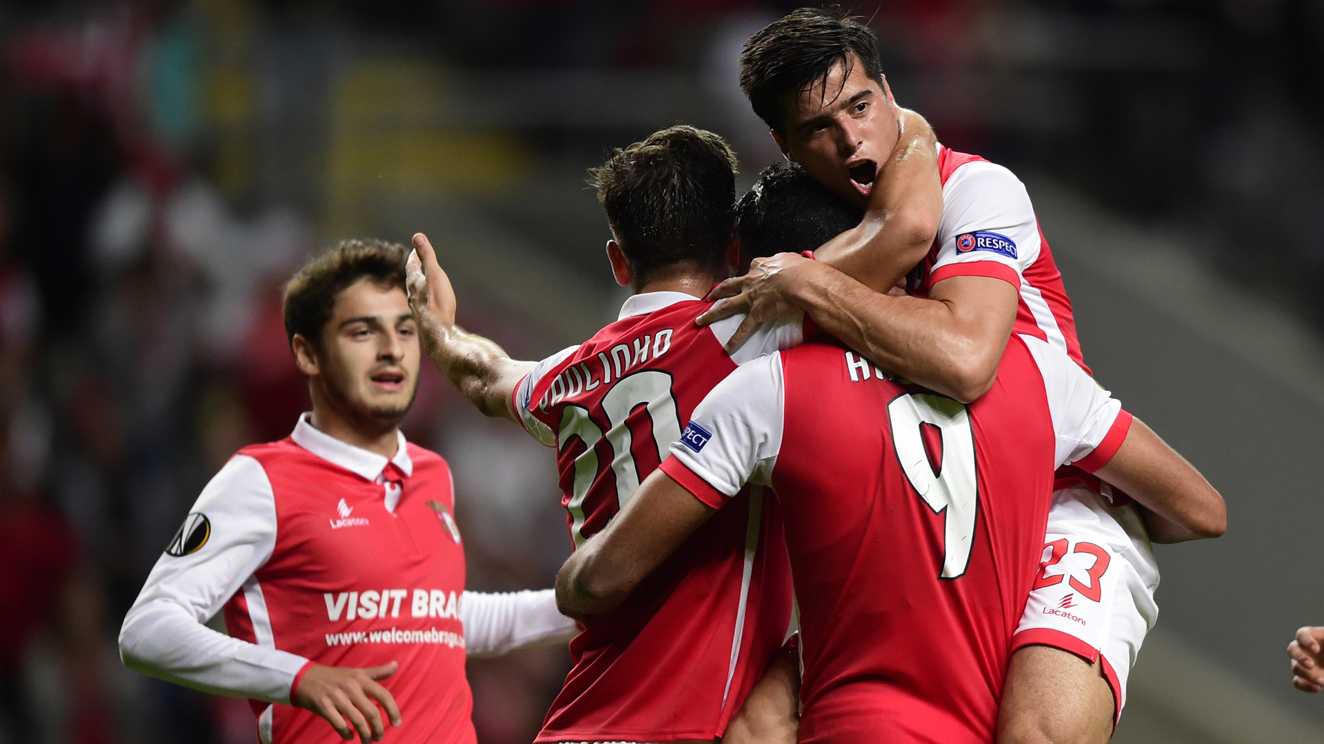 Europa League Sporting Braga 28092017