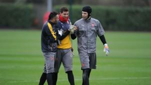 Arqueros Arsenal (Ospina, Martínez & Cech)