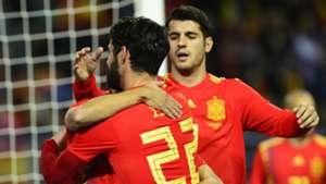 Spain Costa Rica Friendly