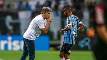 Renato Portaluppi Leo Moura Grêmio Chapecoense Brasileirão Série A 18112018