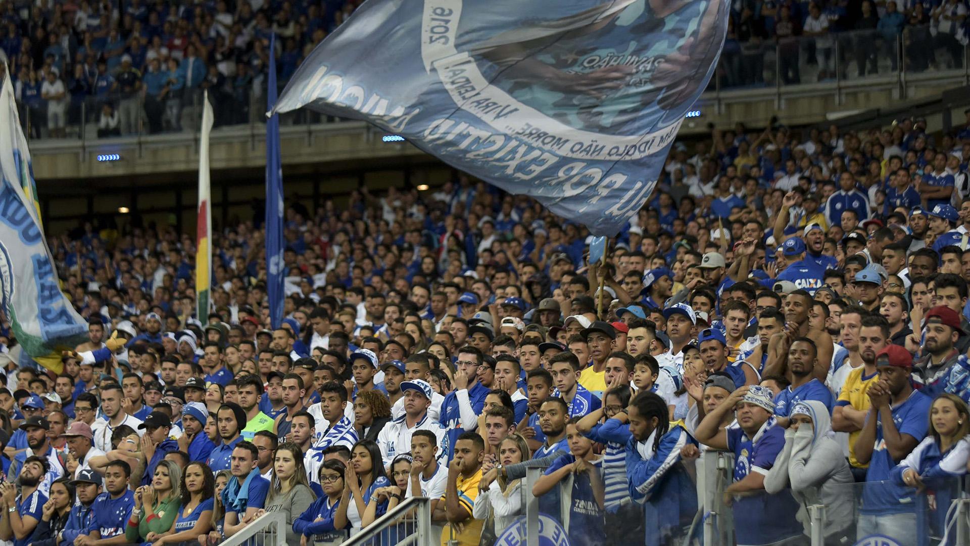 Torcida Cruzeiro Copa do Brasil 26072017