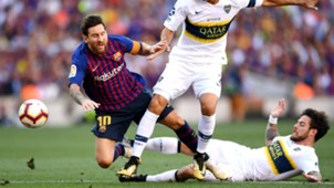 Barcelona Boca Nandez Messi Trofeo Joan Gamper
