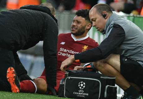 Ox taken off early with injury for Liverpool