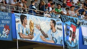 Lionel Messi Diego Armando Maradona Argentina