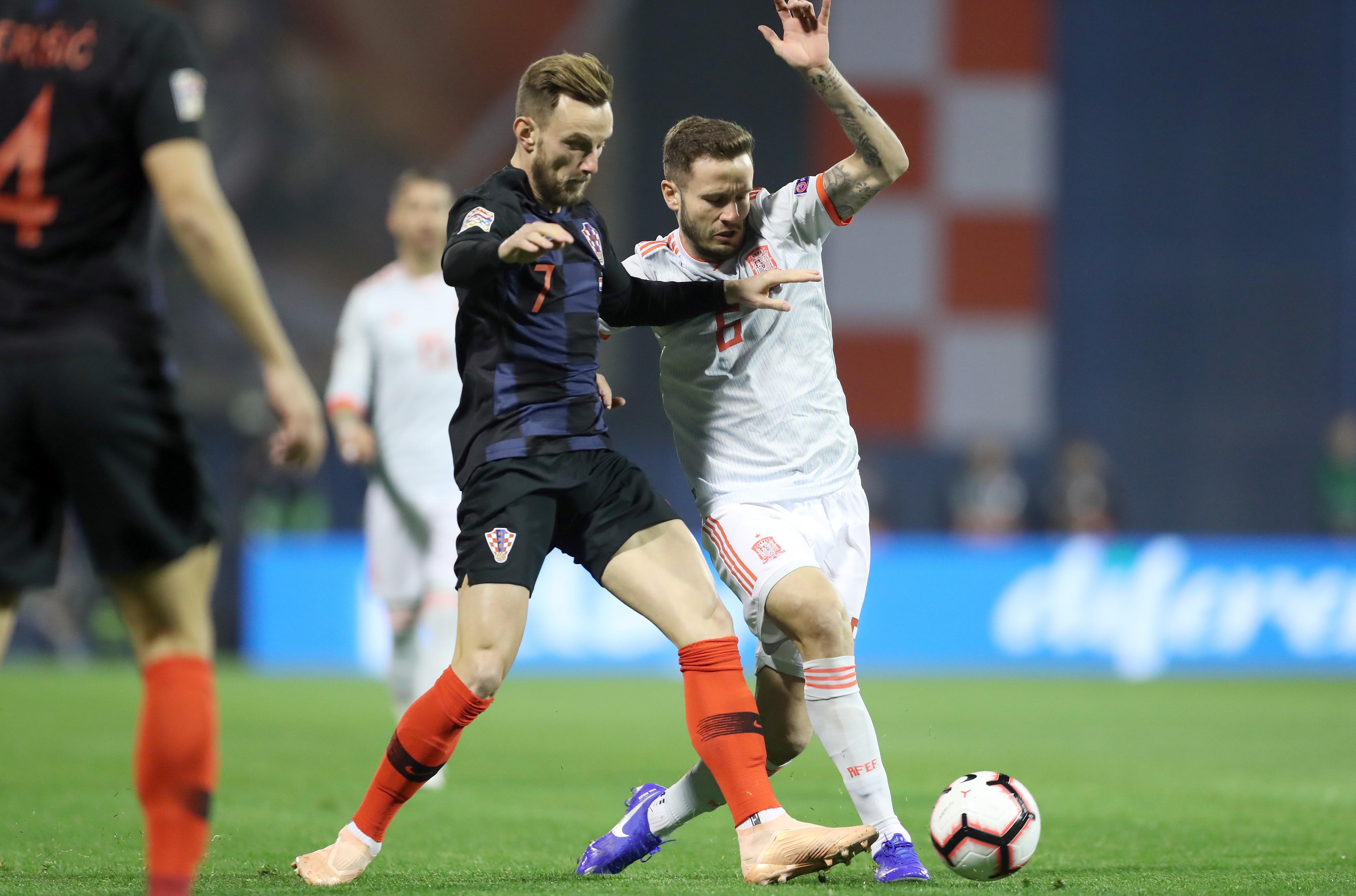croatia spain - uefa nations league - ivan rakitic - 15112018