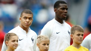 Paul Pogba Kylian Mbappe France